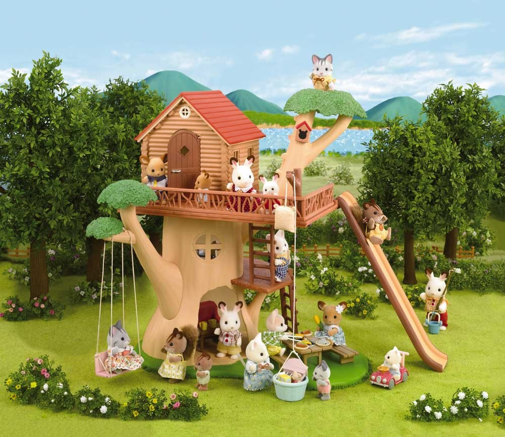 Calico Critters Adventure Treehouse Front