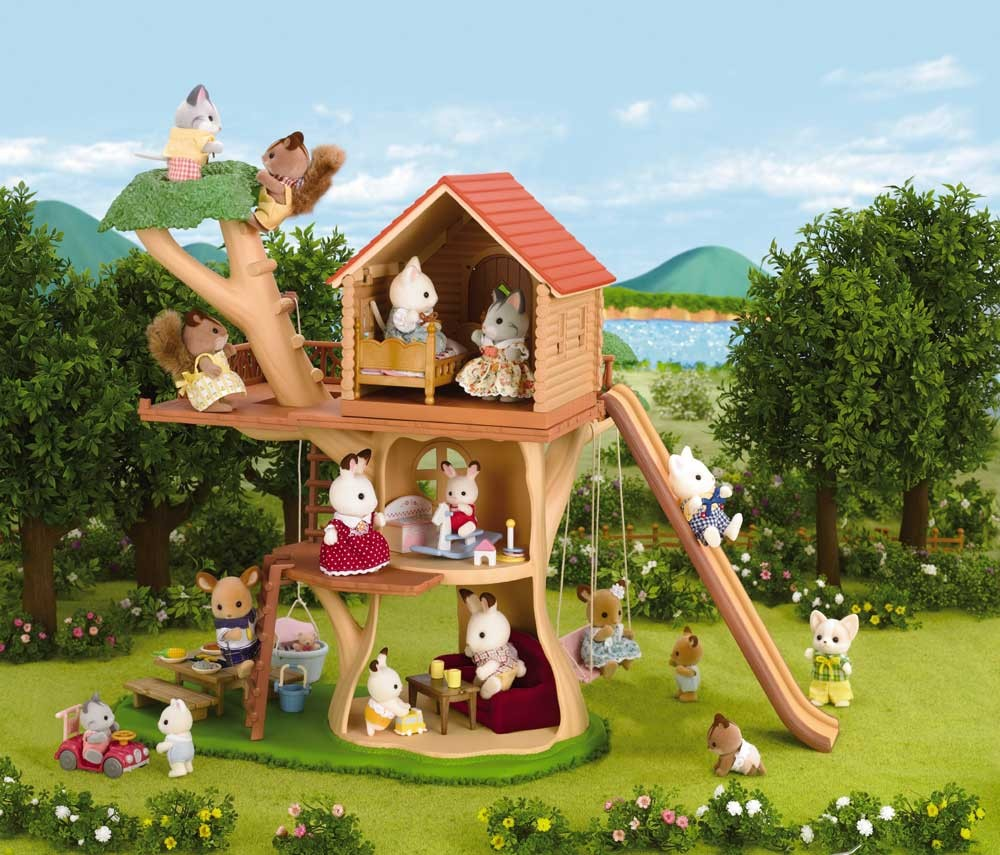 Blog calico critters for Arbre maison jouet