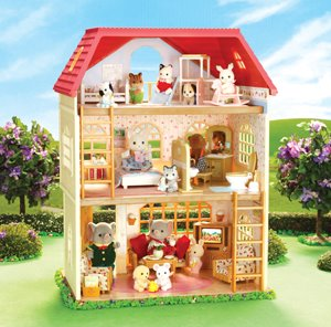 Calico Critters Oakwood Home 3 Floors