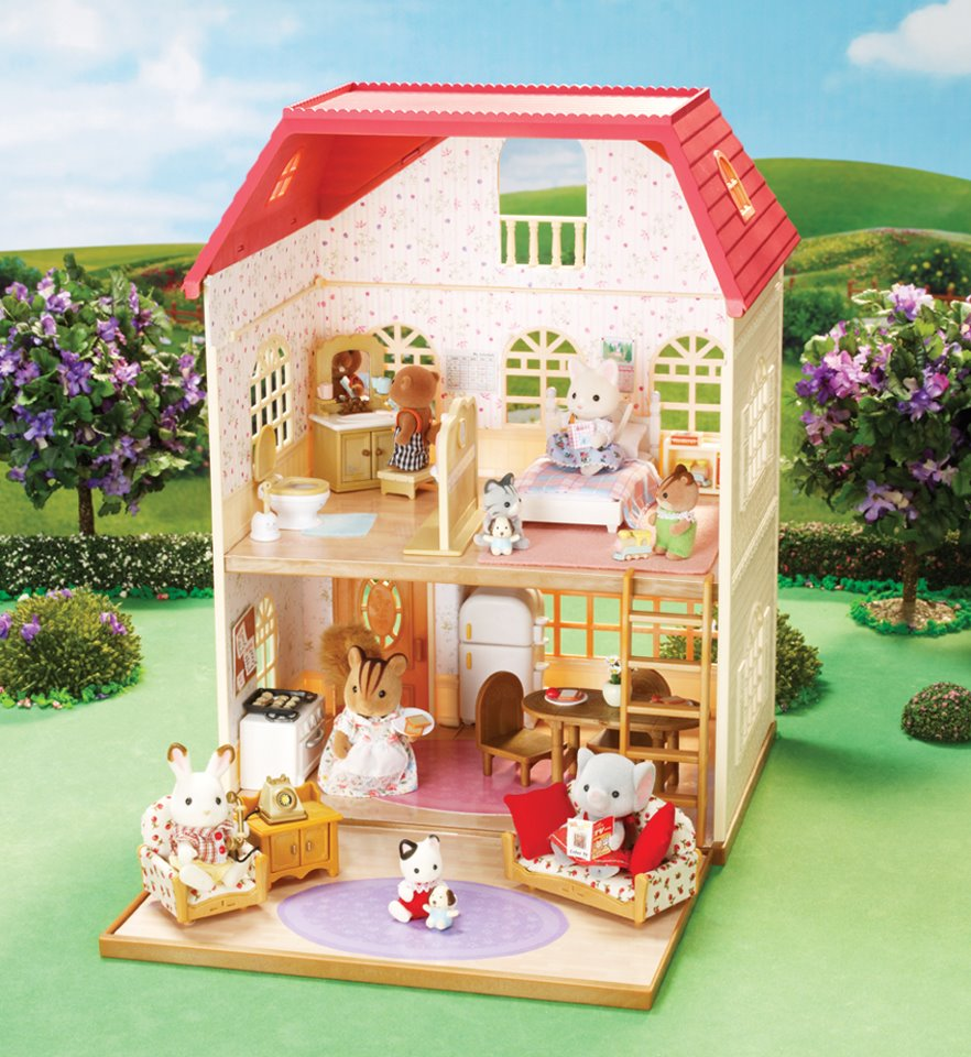 Calico Critters Oakwood Home Interior